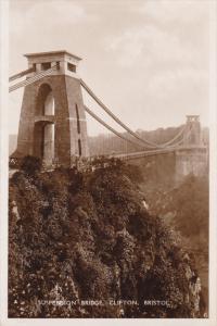 RP; Suspension Bridge , Clifton , Bristol , England , 20-30s