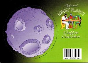 Advertising Cartoon Network Ghost Planet Coffee Coaster