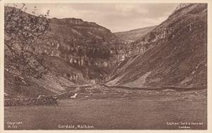 Gordale , MALHAM , Yorkshire , UK , 1910-30s TUCK
