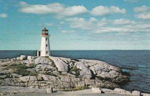 Peggy's Cove , Noca Scotia , Canada , 50-60s ; LIGHTHOUSE