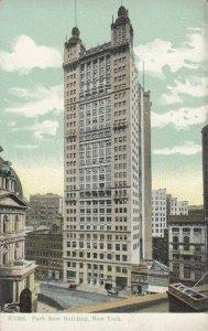 NEW YORK CITY, New York, 1900-10s ; Park Row Building