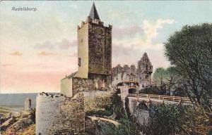 Rudelsburg Tower and Gate, Rudelsburg (Saxony-Anhalt), Germany, 1900-1910s