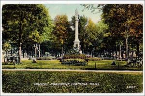 Soldiers Monument, Lawrence MA