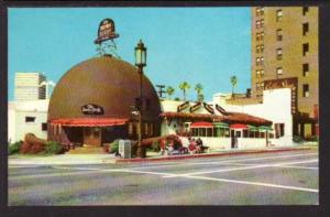 Brown Derby Restaurant Los Angeles CA Post Card 5158