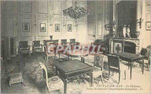 Old Postcard Fontainebleau Chateau l'Imperatrice Josephine Play Room