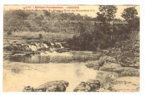 GUINEE,  Railroad Bridge , Chemin de fer de Konakry au Niger, 00-10s