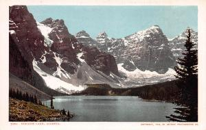 Moraine Lake, Alberta, Canada, Early Postcard, Unused, Detroit Publishing 1903