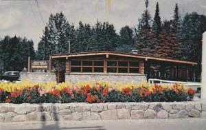 Information Building At The Entrance To Kakabeka Falls Provincial Park, Kakab...