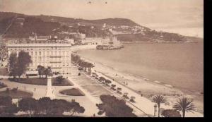 France Nice Promenade du Midi et Mont Boron pris de l'Hotel des Anglais