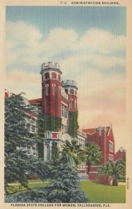 TALLAHASSEE, Florida, 1930-40s; Administration Building, State College for Women