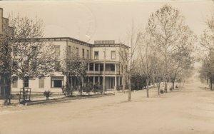RP; BOOTHBAY HARBOR , Maine , 1916 ; Street at Jefferson Inn