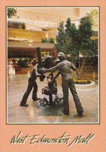 Canada Sculptures In West Edmonton Mall Edmonton Alberta