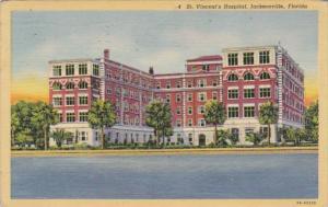 Florida Jacksonville St Vincent's Hospital 1946 Curteich