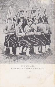 U S Zouaves Rifle Regiment With Buffalo Bill's Wild West