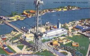 1933 Chicago, Illinois USA Worlds Fair Exposition Postcard Post Card