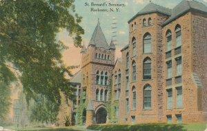 Rochester NY New York St Bernard's Seminary - Flower City Series - pm 1916 - DB