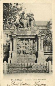 CPA BERCK-PLAGE - Monument cazin-perrochaud (145347)