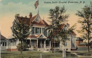 Victoria Public Hospital, FREDERICTON, New Brunswick, Canada, PU-1914