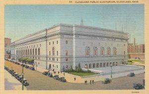 CLEVELAND , Ohio , 30-40s ; Public Auditorium
