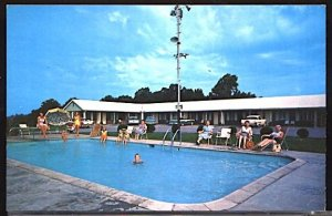 411 Motel on US 411 and 129 Near Maryville Tennessee  Swimming Pool AAA