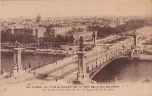 France Paris Le Pont Alexandre III