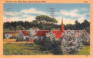 Church of the Holy Spirit South Orleans, Massachusetts Postcard