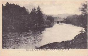 Massachusetts Orange Miller's River Albertype
