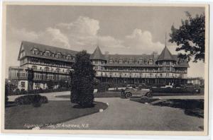 Algonquin Hotel, St Andrews NB
