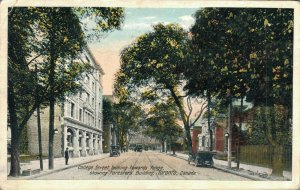 Canada College Street Looking Towards Young Foresters Building Toronto 04.01