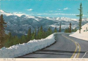 Colorado Denver Mountain Parks Scene Along Mt Evans Road