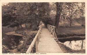 Wooden Bridge Leading to Guy's Cliffe Mill, Warwick
