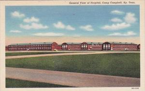 Tennessee Camp Campbell General View Of Hospital