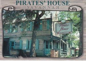 Georgia Savannah The Pirates' House 2001