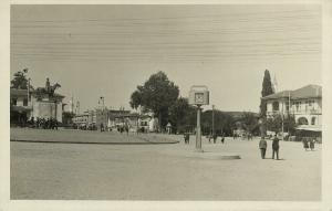turkey, BURSA BROUSSE, Bursadan Selamlar, Atatürk Statue (1930s) RPPC Postcard