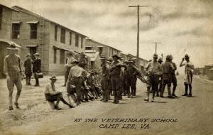 VA - Camp Lee. Veterinary School