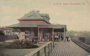 DUNCANNON , Pennsylvania , PU-1914 ; Pennsylvania Railroad Station, version 2