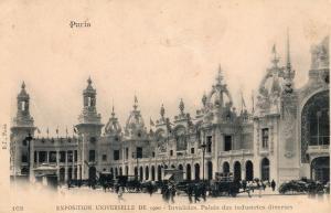 France Paris Exposition Universelle de 1900 Invalides 01.53