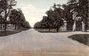 Entrance to Brownleigh Park Goshen, New York Postcard