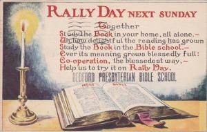 Rally Day Bedford Presbyterian Bible School Brooklyn New York 1937