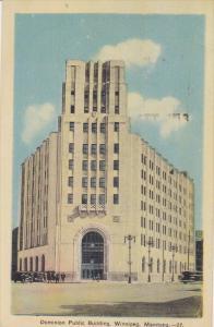 Dominion Public Building, Winnipeg, Manitoba, Canada, PU-1944