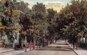 Excelsior Springs MO~Excelsior Street~Monfort House~We're Staying at X~1911 PC