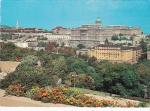 Hungary Budapest View With Buda Castle