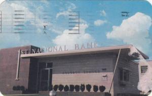 1st National bank , Henderson  , Kentucky , PU-1955