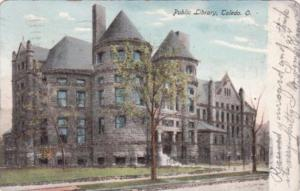 Public Library Toledo Ohio 1906