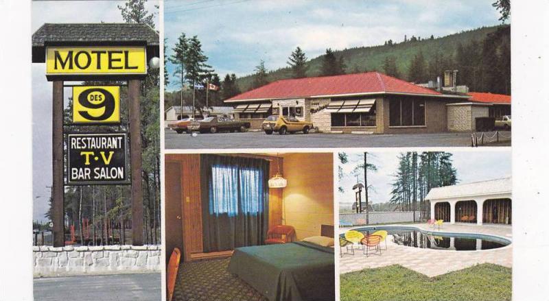 Motel DES 9 La Tuque Quebec Canada 50 60s