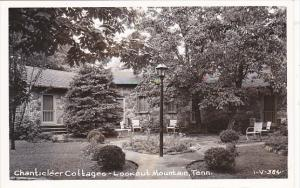 Tennessee Chattanooga Chanticleer Cottages Lookout Mountain Real Photo