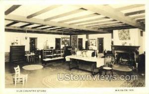 Real Photo - Wayside Inn Sudbury MA Unused
