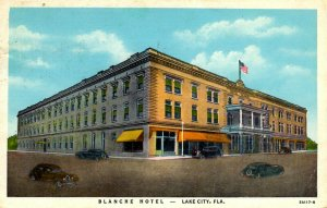 Lake City, Florida - The Blanche Hotel - in 1948