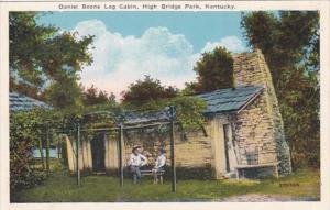 Kentucky High Bridge Park Daniel Boone Log Cabin