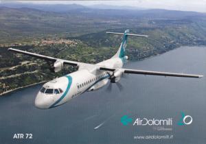AirDolomiti ATR 72 Airplane , 70-90s